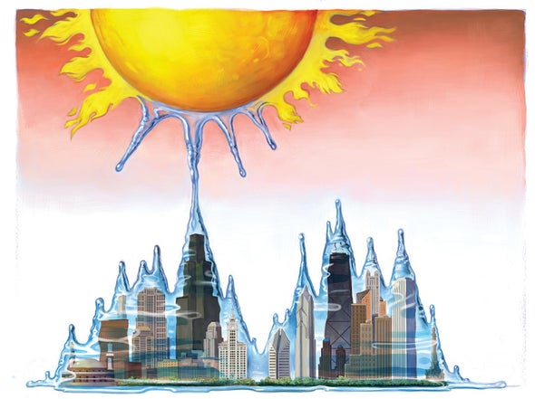 How Some U.S. Cities Saw 70 Degree F Temperature Swings between January and February