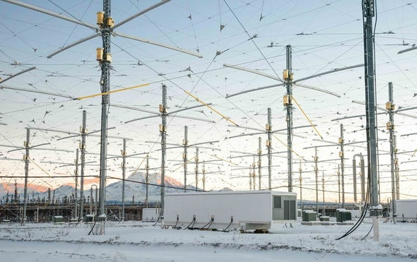 Human Activity Will Heat Alaskan Skies--Deliberately and Picturesquely