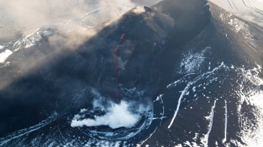 Volcanoes Guard Ice Age Secrets