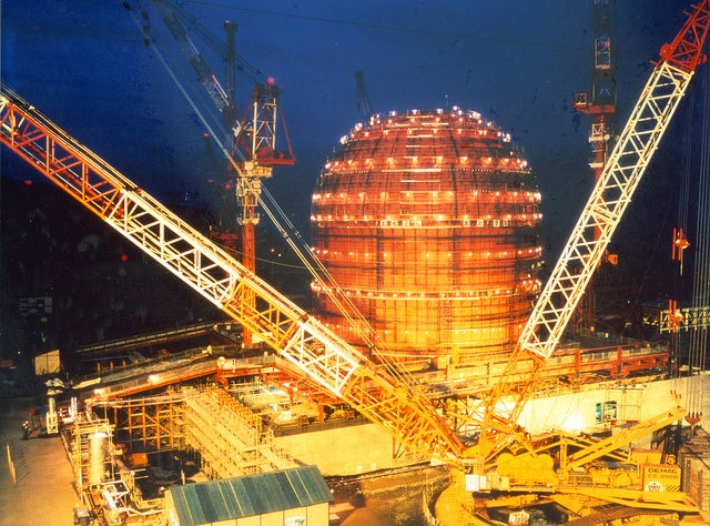 China Restarts Nuclear Power Build Up