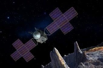 NASA to Seek Iron-Spewing Volcanoes at Psyche