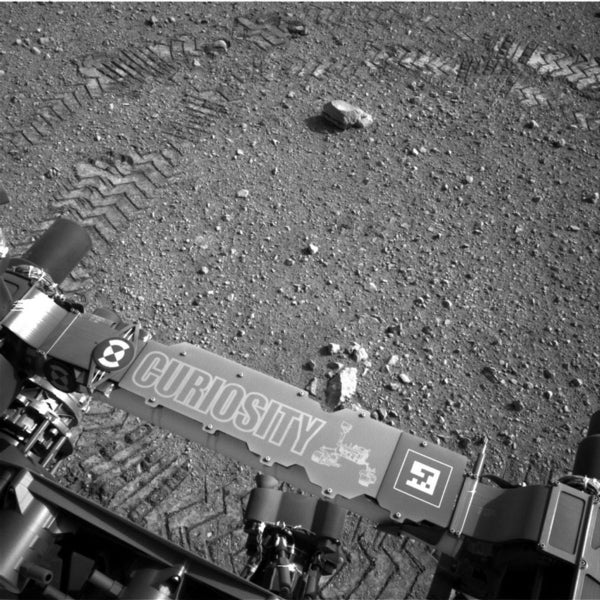 Curiosity Rover Makes Morse-Code Tracks on Mars