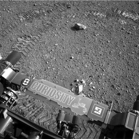 Curiosity Rover Makes Morse-Code Tracks on Mars