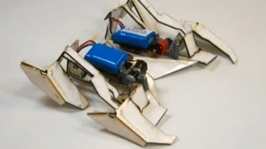 Robot Made of Shrinky-Dink Polymer Folds Itself in 4 Minutes