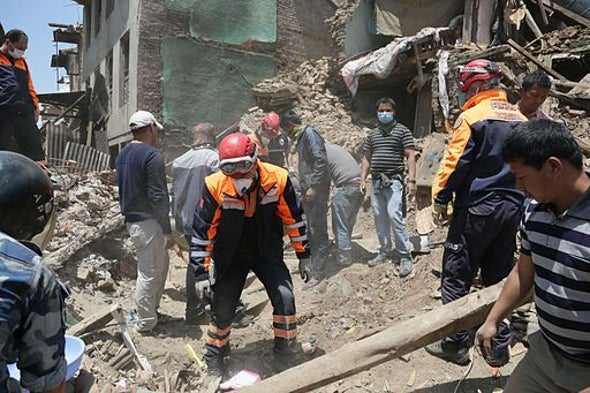Experts Calculate New Loss Predictions for Nepal Quake