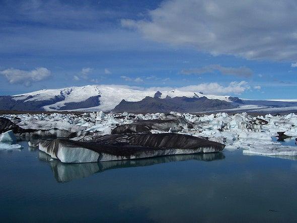 Glacial Melt Pours Iron into Ocean, Seeding Algal Blooms