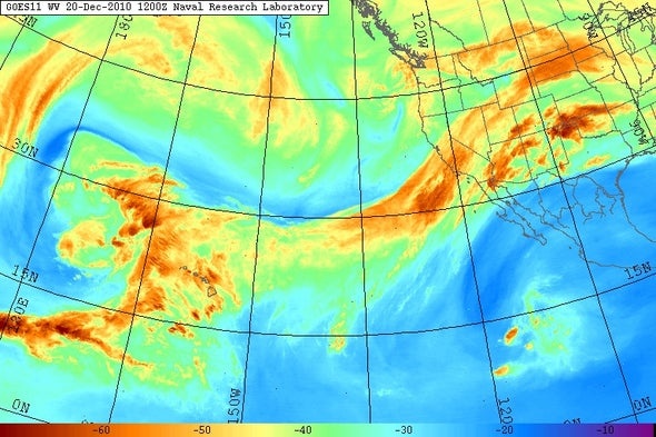 Global Warming May Alter Critical Atmospheric Rivers
