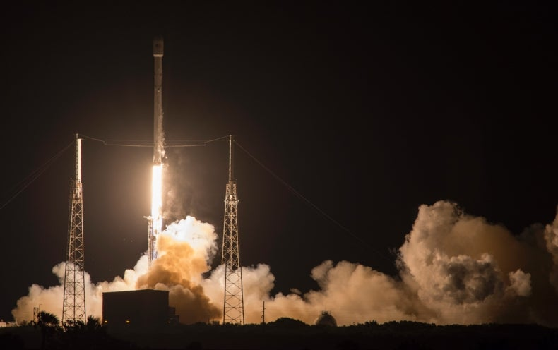 SpaceX Racks up Another Sea Landing