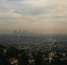 Smog over LA.