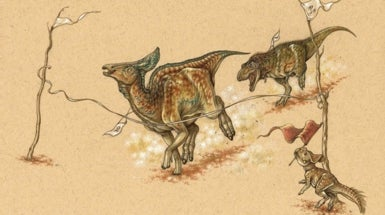 Duck-Billed Dinos Gave <i>T. rex</i> a Run for Its Money