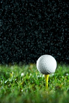 extreme weather and golf