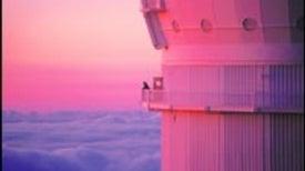 Stars atop a Silent Volcano