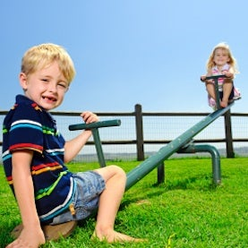 bsh kids on seesaw