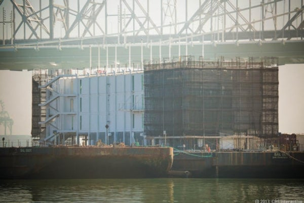 San Francisco's bay barge mystery: Floating data center or Google Glass store?
