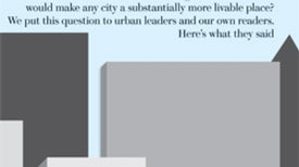 Street Talk: What Innovations Would Make Cities More Livable?
