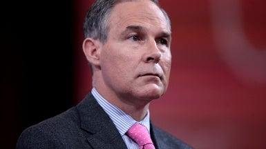 "EPA Chief Promises ""Aggressive"" Rollback of Regulations Soon"