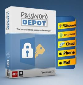 Get Password Depot password manager (Win) for free