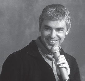 Larry Page, Google CEO,