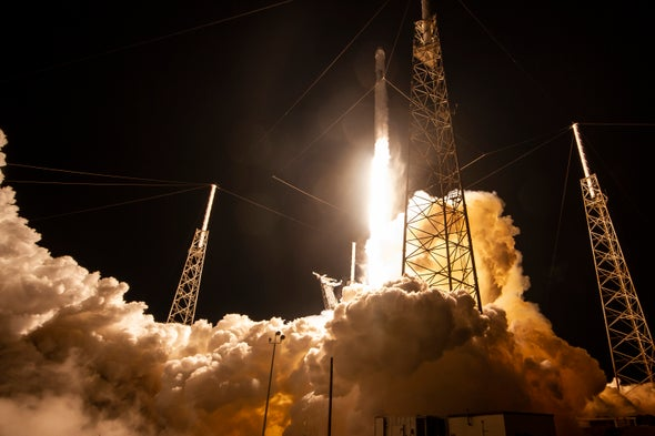 SpaceX's Starlink Could Cause Cascades of Space Junk