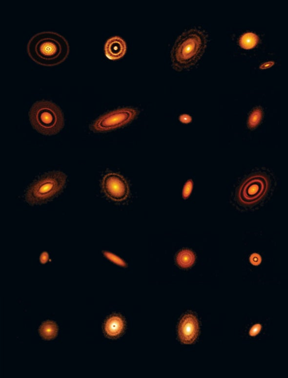 Astronomers Watch as Planets Are Born