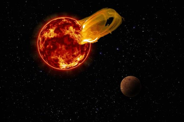 Superflare Wallops Nearest Exoplanet, Proxima b