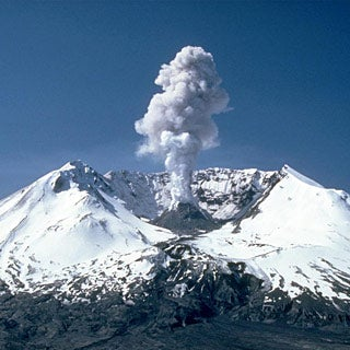 Are Volcanoes or Humans Harder on the Atmosphere?