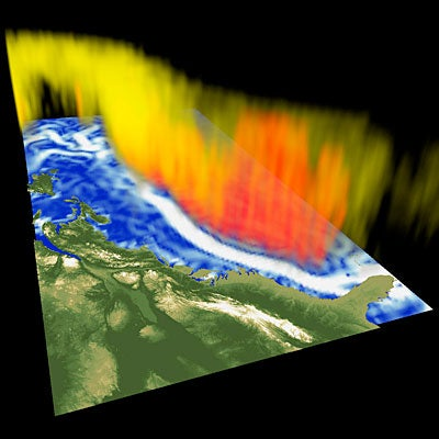 The Gulf Stream Goes Vertical