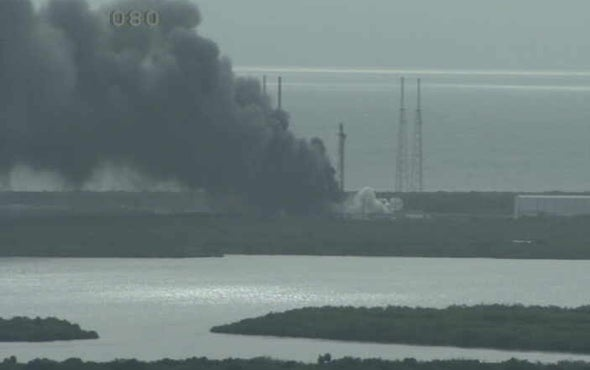 SpaceX Falcon 9 Rocket Explodes on Launch Pad in Florida [Video]