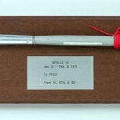 <i>APOLLO 14</i> DUST BRUSH USED ON THE LUNAR SURFACE