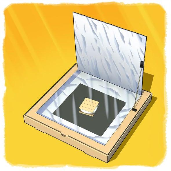 sunny science build a pizza box solar oven