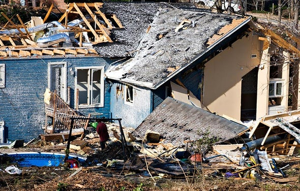 Christmastime Storms and Tornadoes Wreak Havoc in U.S.