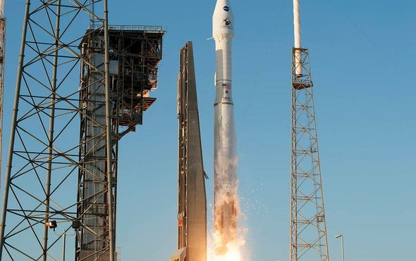 """NASA Hails """"Perfect"""" Launch for Asteroid-Sampling Mission"""