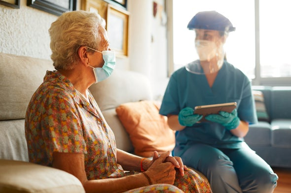 Nursing Home Workers Had One of the Deadliest Jobs of 2020