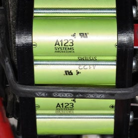 An image of the A123 battery