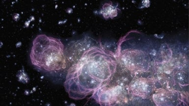 Superstars of the First Galaxies