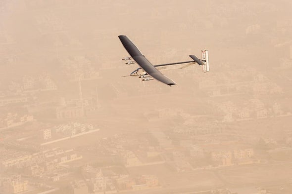 Solar Plane Takes Flight to Circle Globe in 180 Days [in Photos]