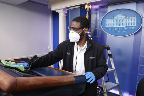 The White House Is Getting a Deep Clean for President Biden