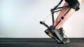 Robotic Exoskeleton Adapts While It's Worn