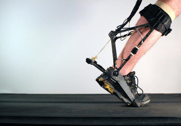 Robotic Exoskeleton Adapts While It's Worn
