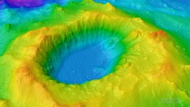 New Volcano Survey Accounts for Materials Ejected from a Volcano