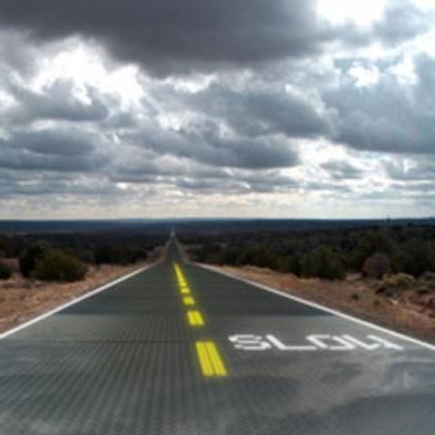 Driving On Glass Inventor Hopes To Lay Down Solar Roads