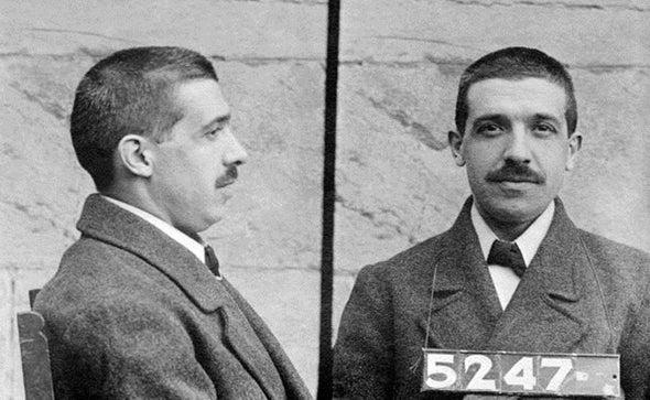 The Original Scheming Ponzi