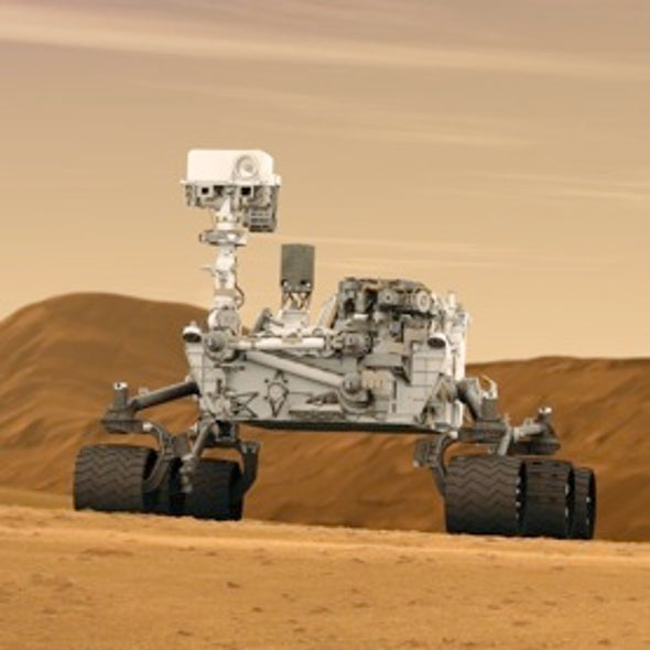 NASA's Massive Curiosity Rover Nears Launch toward Mars