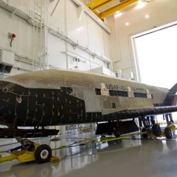 Robot Space Plane Settles into Mystery Mission