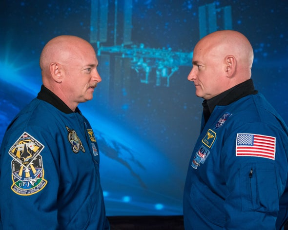 In NASA Study, Twin Astronauts Show Stresses of Space Travel