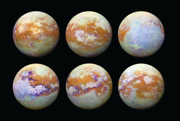 Saturn Probe Data Reveal Impressive Depth of Titan's Largest Sea