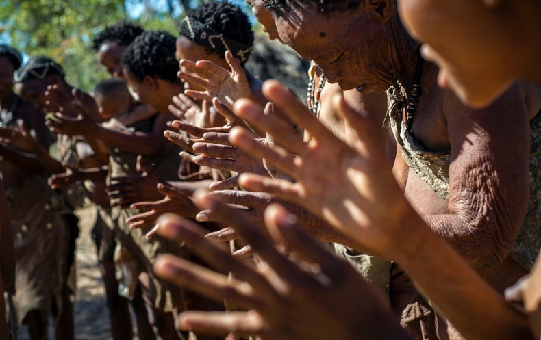 South Africa's San People Issue Ethics Code to Scientists