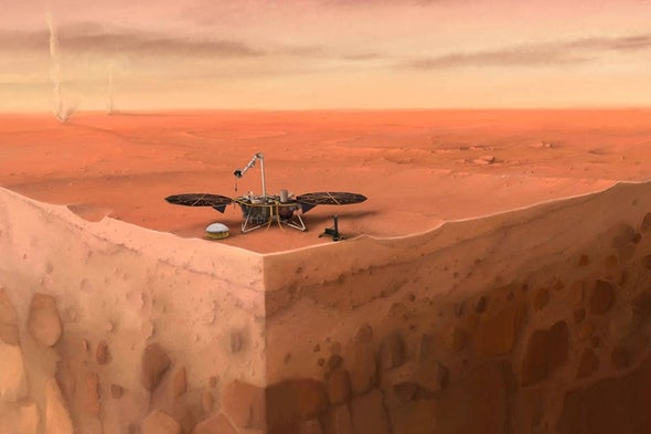 NASA Ends Efforts to Deploy Mars InSight's 'Mole'