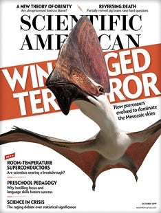 Scientific American Volume 321, Issue 4