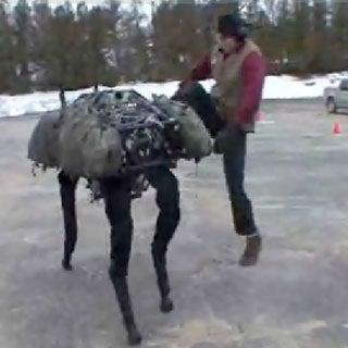 "Leggy ""BigDog"" Robot Set to Step Up for the Military"